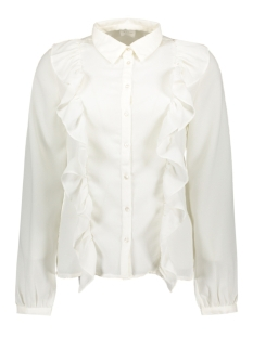 Vila Blouse VITESSE L/S SHIRT 14042671 Cloud Dancer