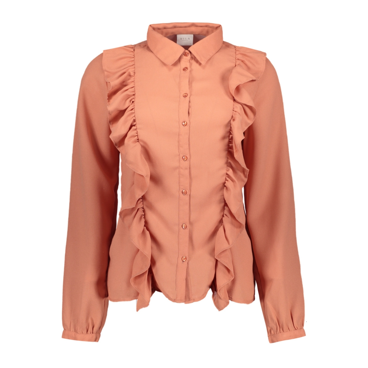 vitesse l/s shirt 14042671 vila blouse rose dawn