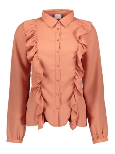 Vila Blouse VITESSE L/S SHIRT 14042671 Rose Dawn