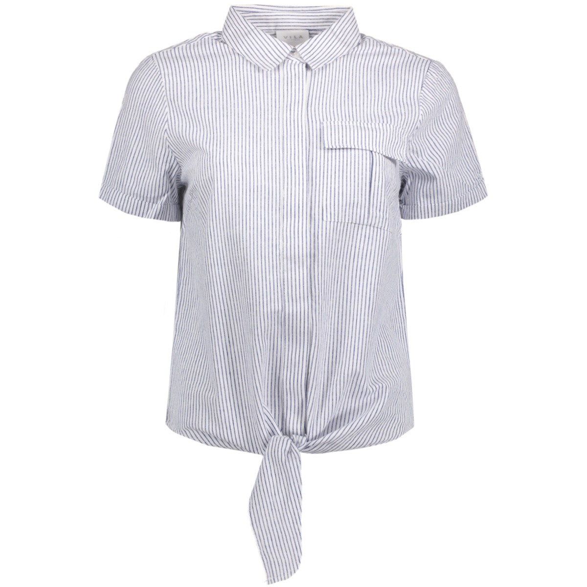 virosettan s/s shirt 14040018 vila blouse cloud dancer/ virosettan