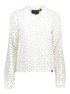 Superdry Blouse G40000AP ELENA SHIRT FT6 Spot White