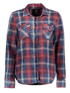 LTB Blouse 100960563.13841 Reddisch Plaid Wash