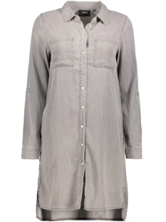 Object Blouse OBJANNSO L/S LONG SHIRT A SO 23022871 Light grey Denim