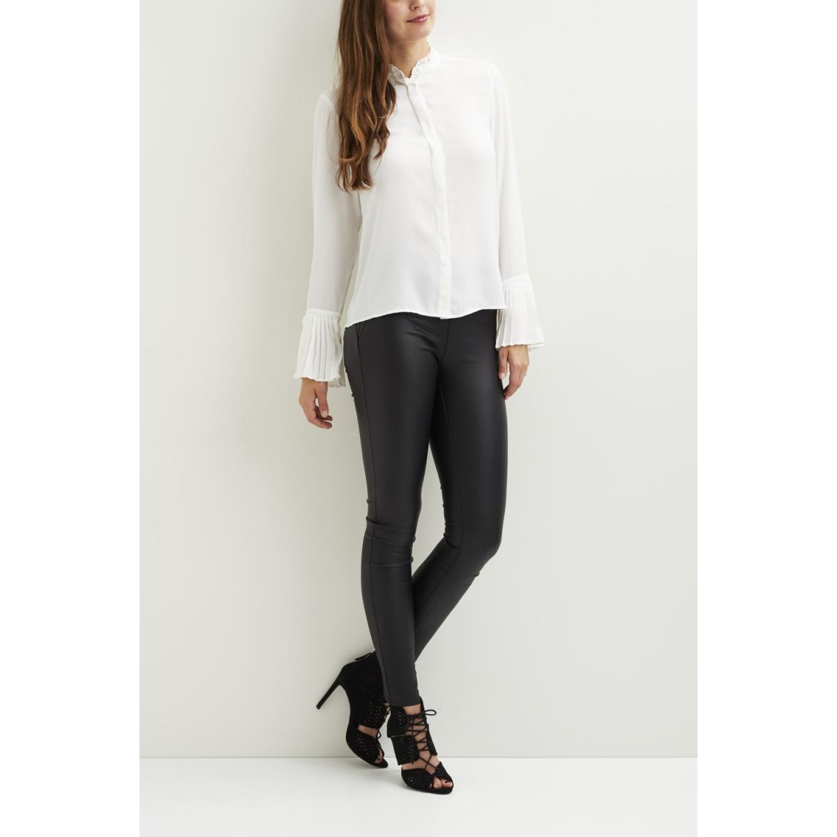 vicamila l/s shirt/gv 14044135 vila blouse cloud dancer
