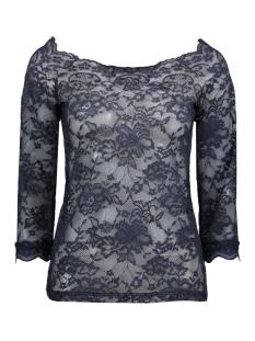 10602223 cream t-shirt navy blue