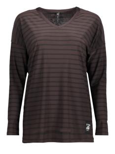 perry zoso t-shirt brown/ black
