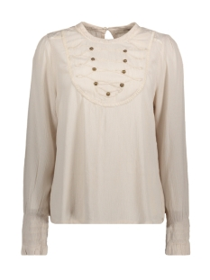 Cream Blouse 10602989 GRAY MORN