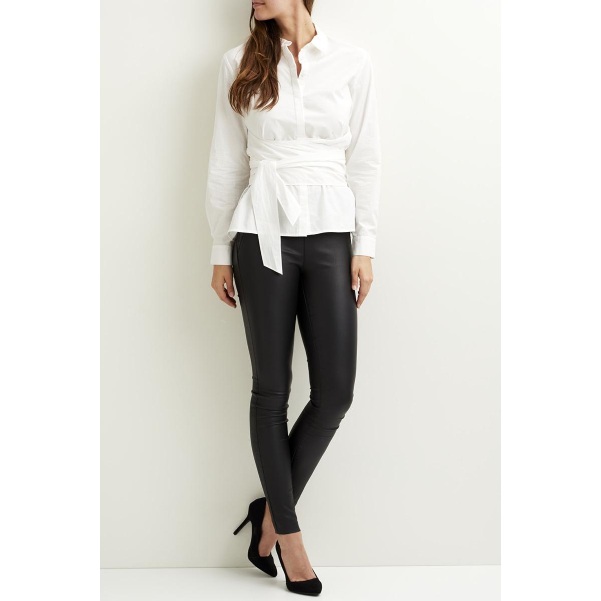 vinavaro l/s wrap shirt 14045074 vila blouse cloud dancer