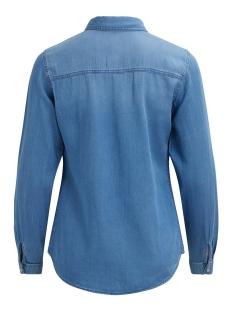 vibista denim shirt-noos 14033008 vila blouse mbd clean