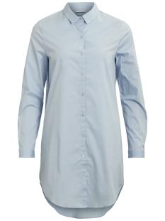 Vila Blouse VICHAU L/S LONG SHIRT 14045770 Cashmere Blue