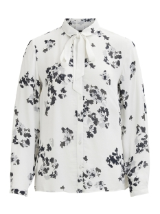 Vila Blouse VIRONJA L/S SHIRT 14044835 Cloud Dancer/CLOUD DANC