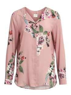 Vila Blouse VILUCY L/S SHIRT - FAV 14044583 Bridal Rose/BIRDO