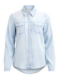 Vila Blouse VIBISTA DENIM SHIRT-FAV 14046260 Light Blue Denim