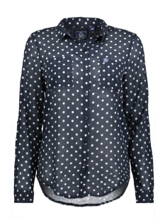 Superdry Blouse G4004AO ZGX (Navy Marine Dot)