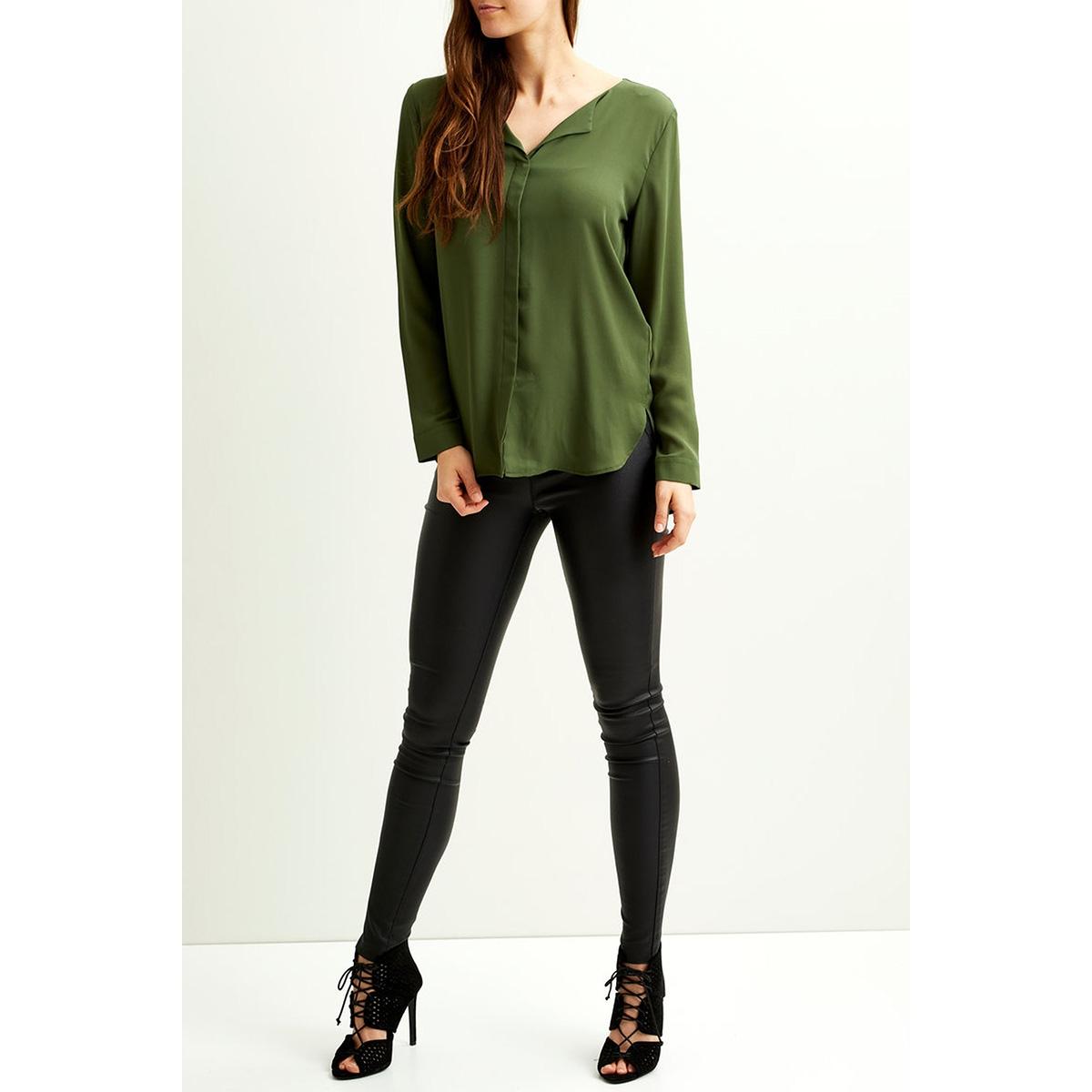 vilucy l/s shirt - fav 14044583 vila blouse chive