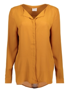Vila Blouse VILUCY L/S SHIRT - FAV 14044583 Cathay Spice