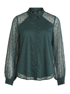 Object Blouse OBJDOTTY LS SHIRT 99 23027644 Pine Grove