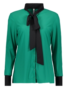 milan travel blouse zoso blouse green/black