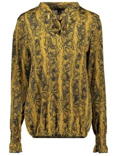 3432 blouse snake iz naiz blouse oker