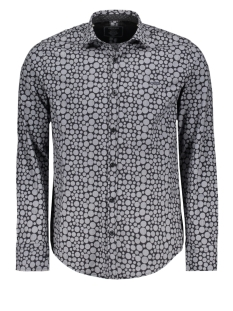 32708 gabbiano overhemd black