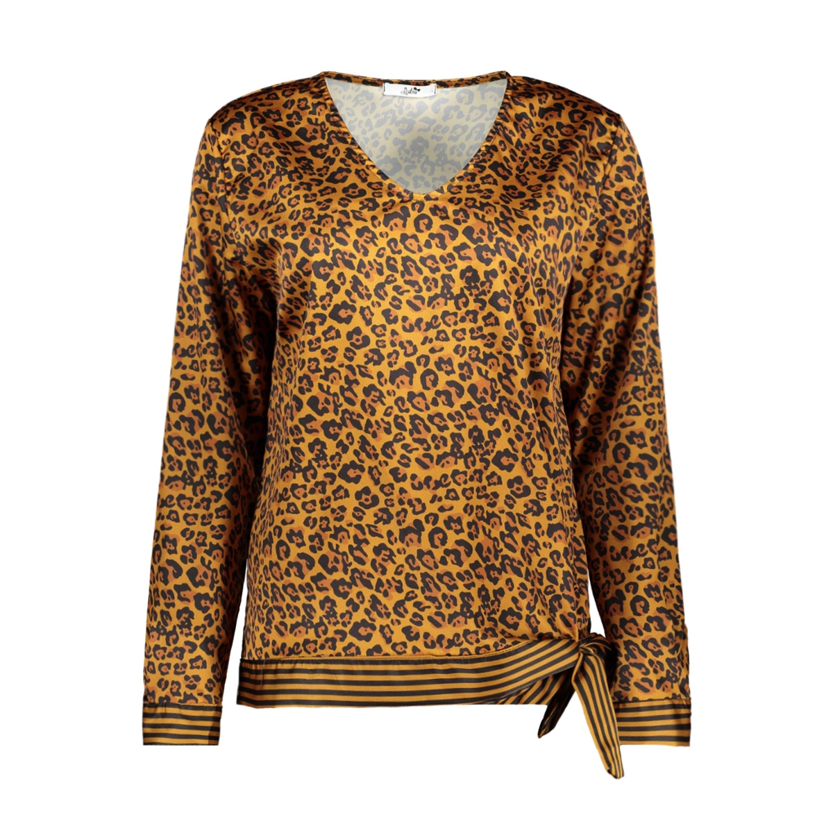 8389 cosette blouse luba blouse cognac print
