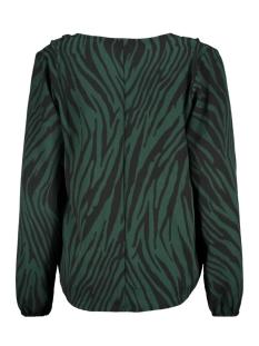 3557 blouse overslag iz naiz blouse groen