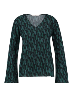 megan vis 549 aaiko blouse glass green