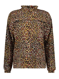 Dayz Blouse PIEN ANIMAL OKER MULTI
