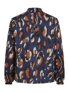 viblume l/s top 14053983 vila blouse dark navy/dark navy