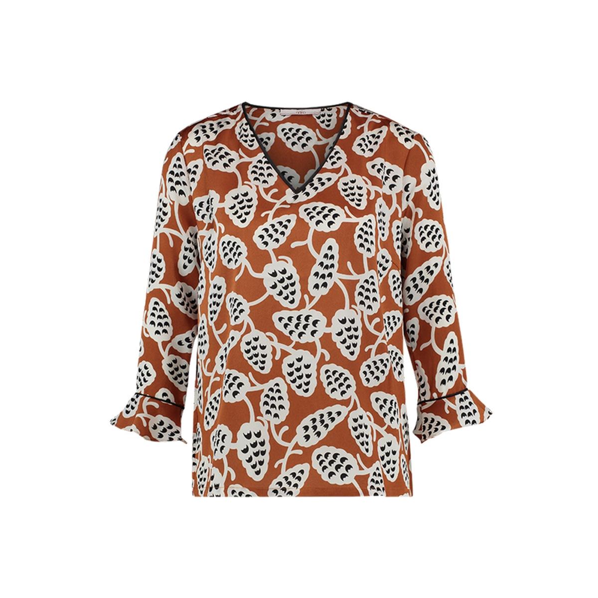 imardi blouse pes 583 aaiko blouse caramel