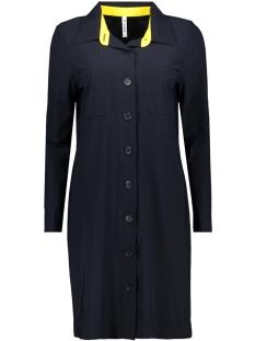 hr1935 zoso jurk navy-yellow