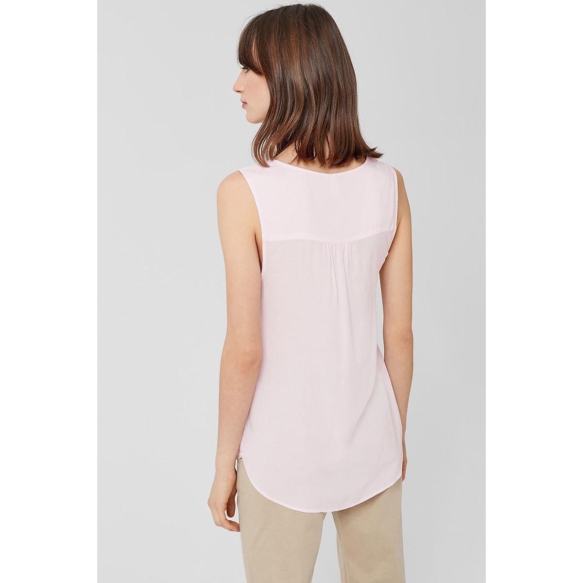 mouwloze half transparante blouse 45899135551 q/s designed by top 4030