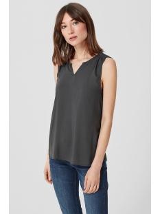 mouwloze half transparante blouse 45899135551 q/s designed by top 9858