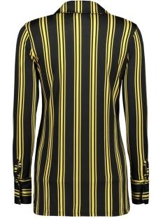 blouse stripe 3332 iz naiz blouse yellow
