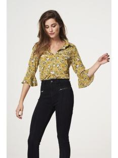 silie pes 568 aaiko blouse golden olive