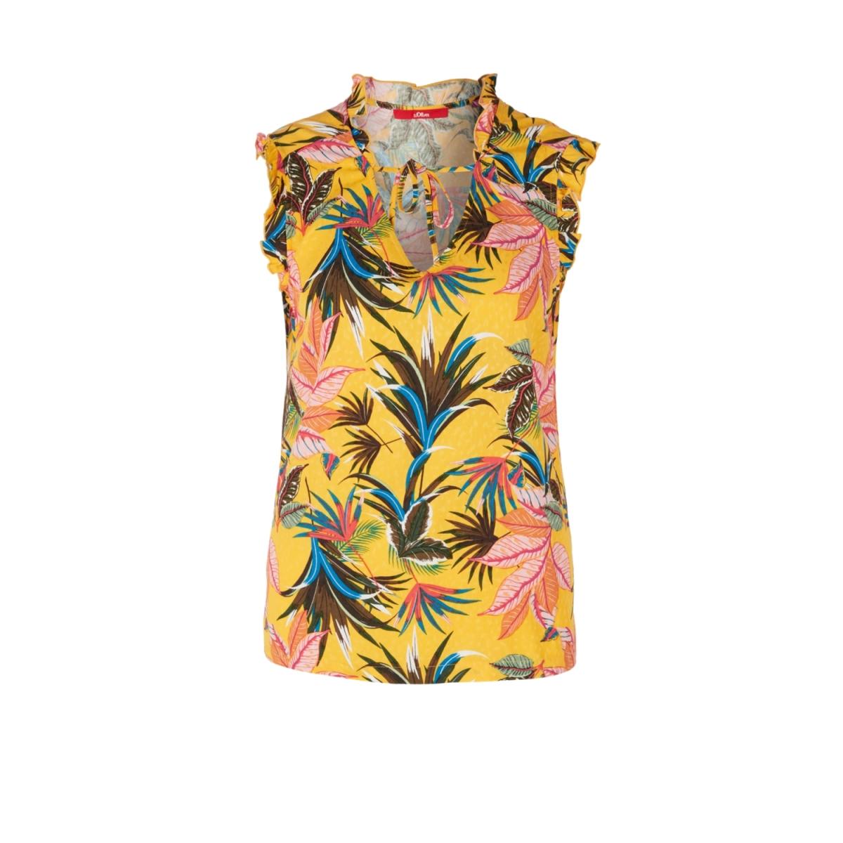 blouse met ruches en motief 14903134281 s.oliver top 13b5