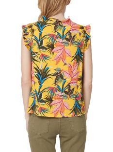 blouse met ruches en motief 14903134281 s.oliver blouse 13b5