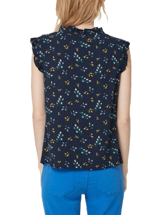 blouse met ruches en motief 14903134281 s.oliver blouse 58b2