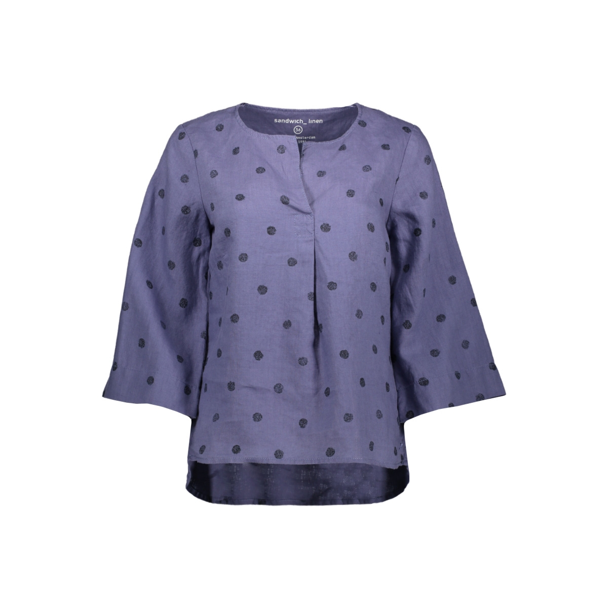 top met stippen 22001623 sandwich blouse 70017