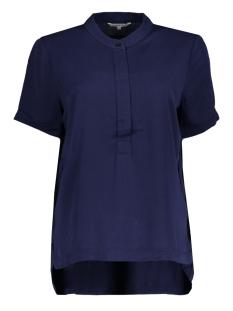 Sandwich T-shirt TOP MET OMGESLAGEN MOUWTJES 22001638 40151