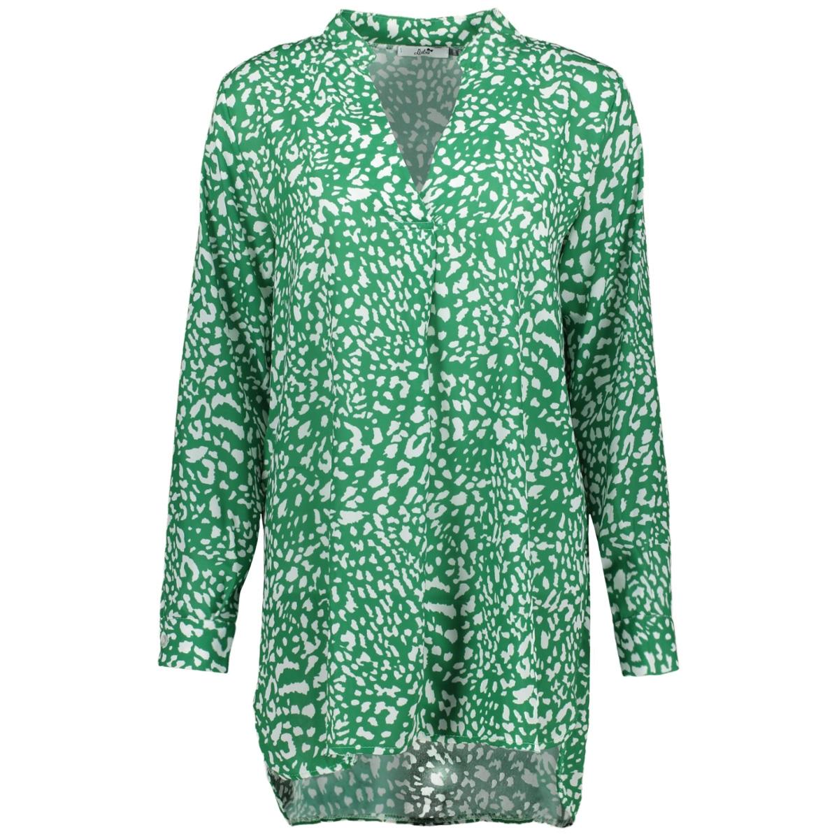petra blouse 8421 luba blouse print green