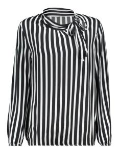 phine blouse 8205 luba blouse black/white