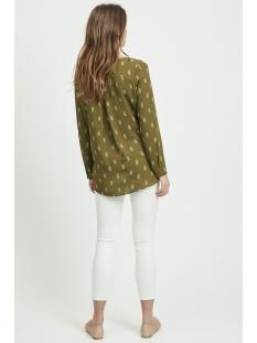 vilucy l/s shirt - fav lux 14049450 vila blouse dark olive/pasia