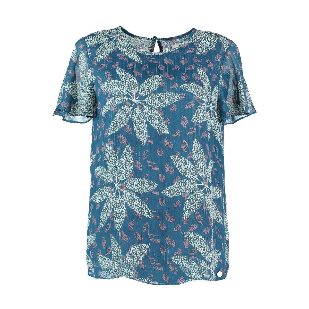 mila blouse ss19b407 harper & yve blouse summer petrol