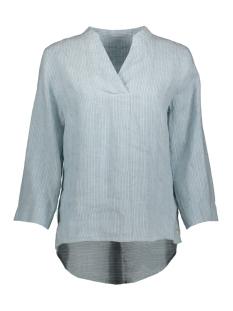 gestreepte linnen blouse 22001664 sandwich blouse 41010