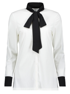 Zoso Blouse MILAN TRAVEL BOW BLOUSE OFF WHITE/BLACK
