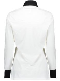 milan travel bow blouse zoso blouse off white/black