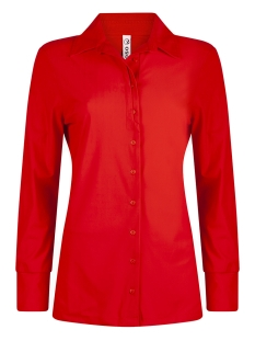 Zoso Blouse TRAVEL BLOUSE HR1901 ORANGE RED