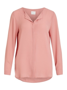 Vila Blouse VILUCY L/S SHIRT - NOOS 14044253 Brandied Apricorn