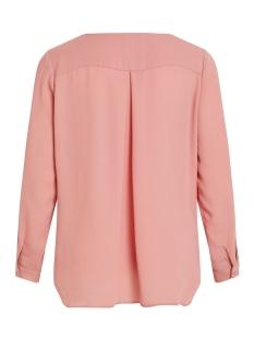 vilucy l/s shirt - noos 14044253 vila blouse brandied apricorn